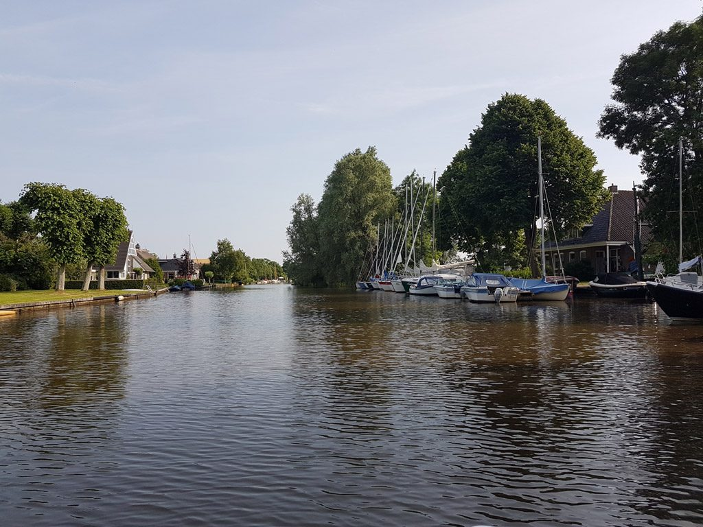 De eindbestemming en bootverhuur in Broek