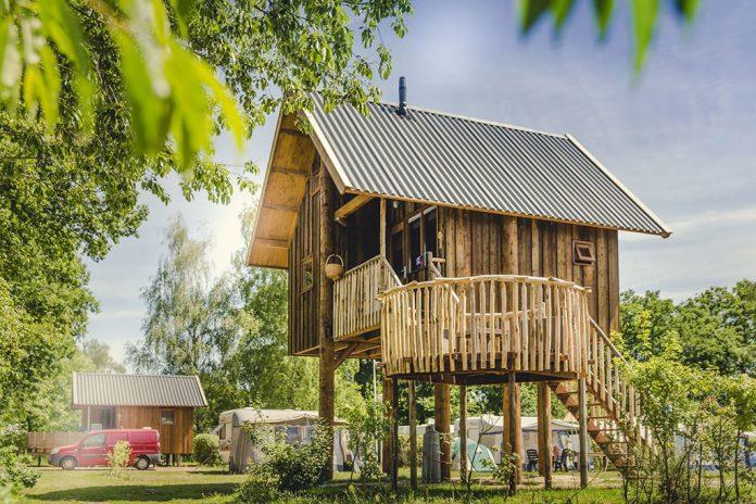 Boomhut Vakantiepark Mölke Overijssel